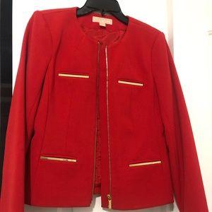 Michael Joes Red Blazer